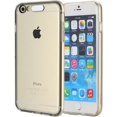 Rock iPhone 6 Plus/6S Plus Light Tube Series hátlap, tok, arany