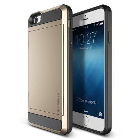 VRS Design (VERUS) iPhone 6/6S Damda Slide hátlap, tok, arany