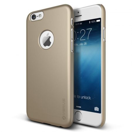 VRS Design (VERUS) iPhone 6 Super Slim Hard hátlap, tok, arany