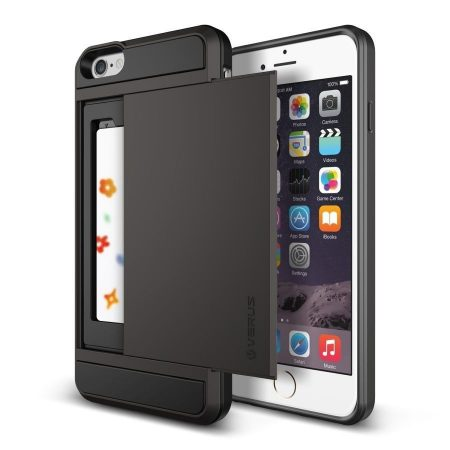 VRS Design (VERUS) iPhone 6 Plus/6S Plus Damda Slide hátlap, tok, acélezüst