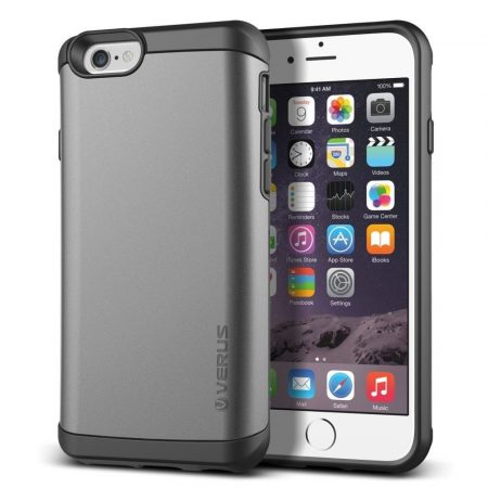 VRS Design (VERUS) iPhone 6/6S Damda Veil hátlap, tok, grafitszürke