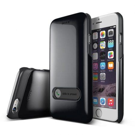 VRS Design (VERUS) iPhone 6 Slim Hard Slide hátlap, tok, metálfekete
