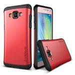 VRS Design (VERUS) Samsung Galaxy A7 Hard Drop hátlap, tok, piros
