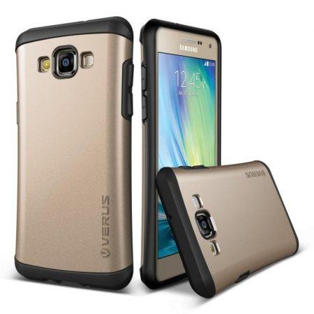 VRS Design (VERUS) Samsung Galaxy A7 Hard Drop hátlap, tok, arany