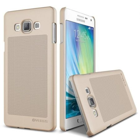 VRS Design (VERUS) Samsung Galaxy A7 Slim Dot hátlap, tok, arany
