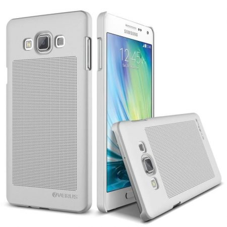 VRS Design (VERUS) Samsung Galaxy A7 Slim Dot hátlap, tok, ezüst