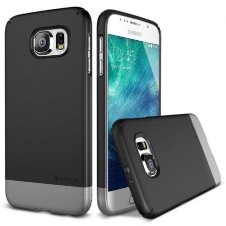 VRS Design (VERUS) Samsung Galaxy S6 2LINK hátlap, tok, grafitszürke