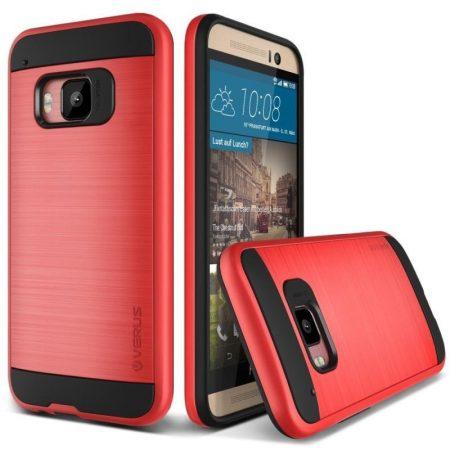 VRS Design (VERUS) HTC One M9 Verge hátlap, tok, piros