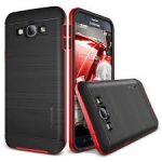 VRS Design (VERUS) Samsung Galaxy A8 (2016) High Pro Shield hátlap, tok, piros