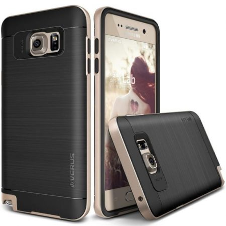 VRS Design (VERUS) Samsung Galaxy Note 5 High Pro Shield hátlap, tok, arany