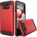 VRS Design (VERUS) Samsung Galaxy Note 5 Verge hátlap, tok, piros