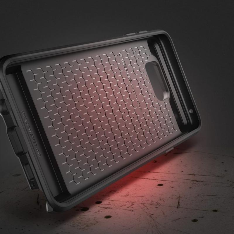 af3013dd59c6 VRS Design (VERUS) Samsung galaxy Note 5 Damda Slide hátlap, tok, ezüst