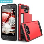 VRS Design (VERUS) Samsung Galaxy Note 5 Damda Slide hátlap, tok, piros