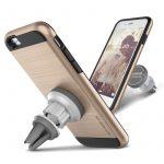 VRS Design (VERUS) iPhone 6S Plus / 6 Plus Verge Magnetic Flat tok és mágneses autós tartó, arany