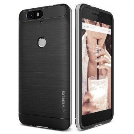 VRS Design (VERUS) Huawei Nexus 6P High Pro Shield hátlap, hátlap, tok, ezüst