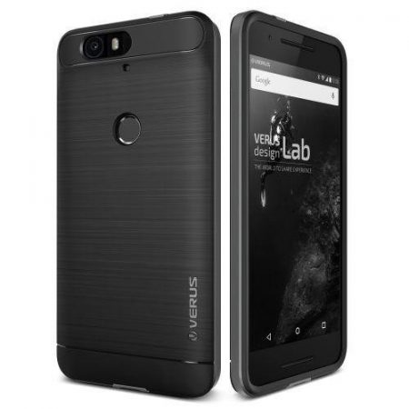 VRS Design (VERUS) Huawei Nexus 6P High Pro Shield hátlap, hátlap, tok, acélezüst