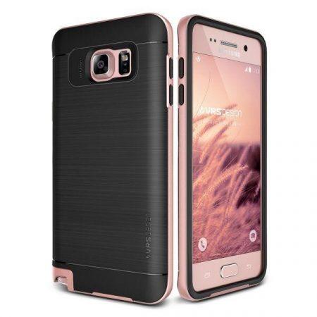 VRS Design (VERUS) Samsung Galaxy Note 5 High Pro Shield hátlap, tok, rozé arany