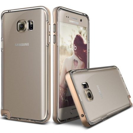 VRS Design (VERUS) Samsung Galaxy Note 5 Crystal Bumper hátlap, tok, rozé arany
