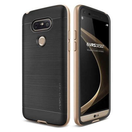 VRS Design (VERUS) LG G5 High Pro Shield hátlap, tok, arany