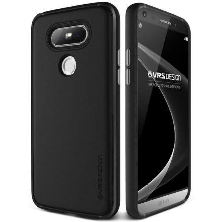VRS Design (VERUS) LG G5 Single Fit hátlap, tok, fekete