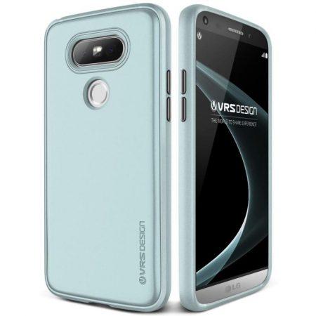 VRS Design (VERUS) LG G5 Single Fit hátlap, tok, zöld
