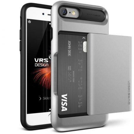 VRS Design (VERUS) iPhone 7 Damda Glide hátlap, tok, ezüst