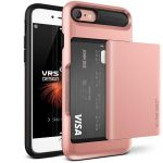 VRS Design (VERUS) iPhone 7 Damda Glide hátlap, tok, rose gold