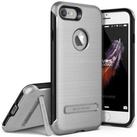 VRS Design (VERUS) iPhone 7 Duo Guard hátlap, tok, ezüst
