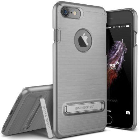 VRS Design (VERUS) iPhone 7 Simpli Lite hátlap, tok, acélezüst