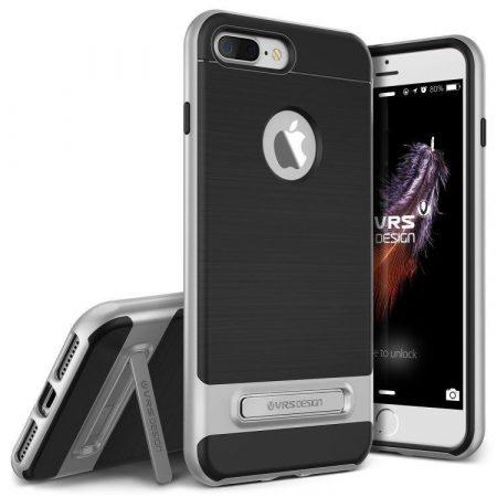 VRS Design (VERUS) iPhone 7 Plus High Pro Shield hátlap, tok, ezüst