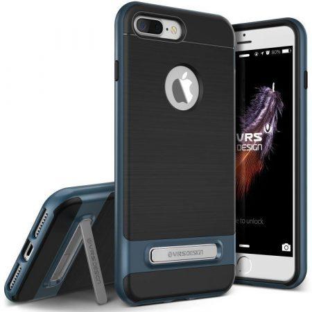 VRS Design (VERUS) iPhone 7 Plus High Pro Shield hátlap, tok, acélkék