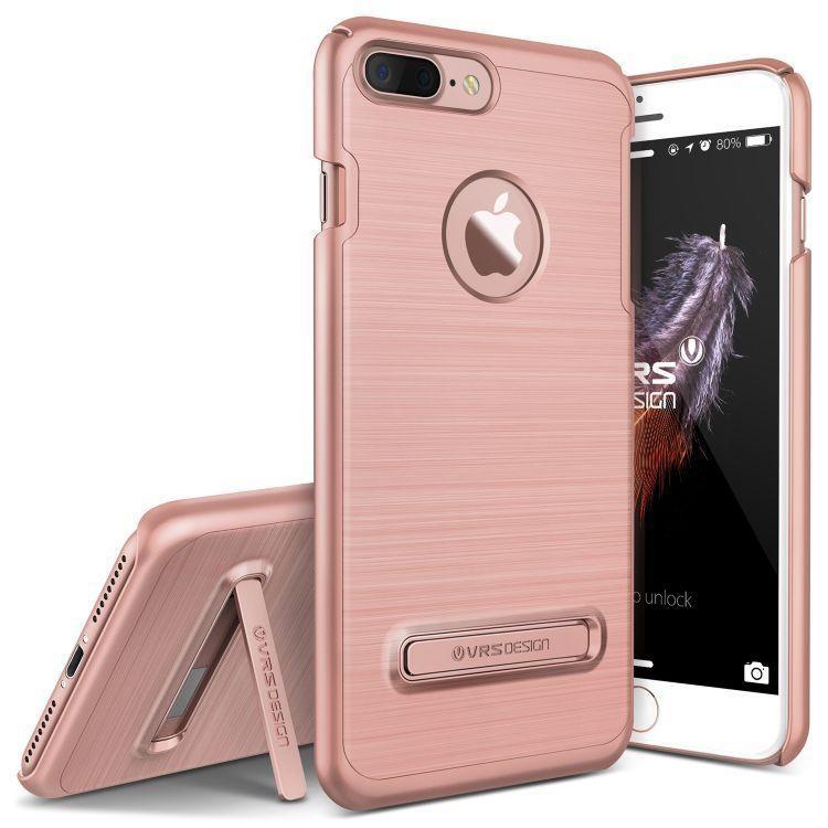 f6fca19459 VRS Design (VERUS) iPhone 7 Plus Simpli Lite hátlap, tok, rozé arany ...