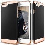 Caseology iPhone 6 Plus/6S Plus Savoy Series hátlap, tok, fekete
