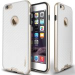 Caseology iPhone 6 (5.5'') Plus Bumper Frame Series Carbon, tok, arany-fehér