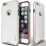 Caseology iPhone 6 (5.5'') Plus Bumper Frame Series Carbon, tok, arany-fehér