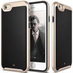 Caseology iPhone 6/6S (5.5'') Plus Envoy Series Carbon hátlap, tok, arany-fekete