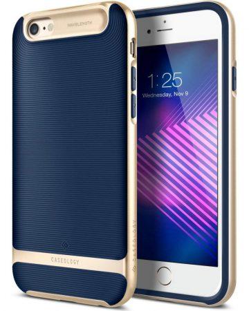 Caseology iPhone 6 Plus/6S Plus Wavelength Series hátlap, tok, sötétkék