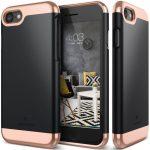 Caseology iPhone 7 (4.7'') Savoy Series hátlap, tok, fekete