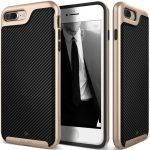 Caseology iPhone 7 (4.7'') Envoy Series Carbon hátlap, tok, karbon fekete