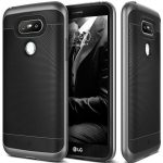 Caseology LG G5 Wavelength Series hátlap, tok, fekete