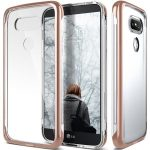 Caseology LG G5 Skyfall Series hátlap, tok, rose gold