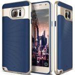 Caseology Samsung Galaxy Note 5 Wavelength Series hátlap, tok, sötétkék
