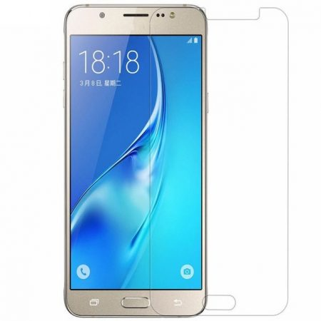 Iwill Samsung Galaxy A7 (2015) kijelzővédő edzett üvegfólia (tempered glass) 9H keménységű (nem teljes kijelzős 2D sík üvegfólia), átlátszó
