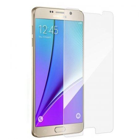 Iwill Samsung Galaxy Note 5 kijelzővédő edzett üvegfólia (tempered glass) 9H keménységű, átlátszó