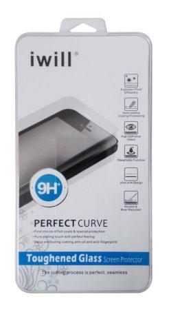 Iwill SONY Xperia Z3 kijelzővédő edzett üvegfólia (tempered glass) 9H keménységű, átlátszó