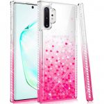 Diamond Liquid Huawei P40 Lite hátlap, tok, rózsaszín
