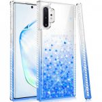 Diamond Liquid Huawei P40 Lite hátlap, tok, kék