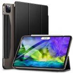 ESR iPad Pro 11 (2018/2020) Yippee oldalra nyíló okos tok, fekete