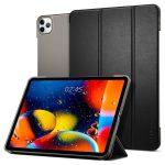 Spigen Smart Fold iPad Pro 11 (2018/2020) oldalra nyíló tok, fekete