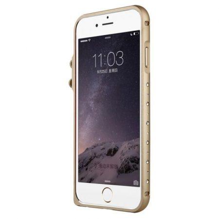 Baseus Eternal Series iPhone 6 alumínium bumper, arany